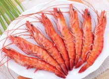 Whole Cooked Black Tiger shrimps